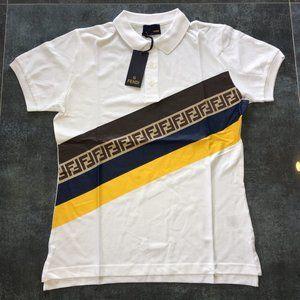 fendi mens polo shirt italy